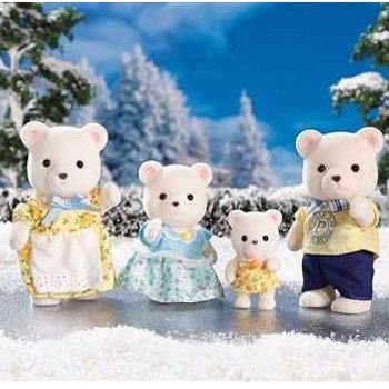 Calico Critters Polar Bear Family Playset