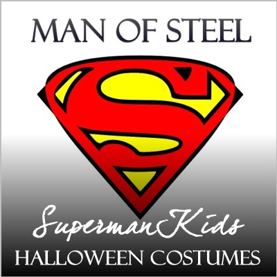 Man of Steel Superman Halloween Costume